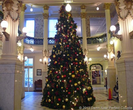Menger Hotel Tree