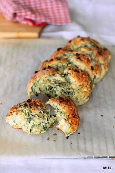 Spinach and Feta Plait1