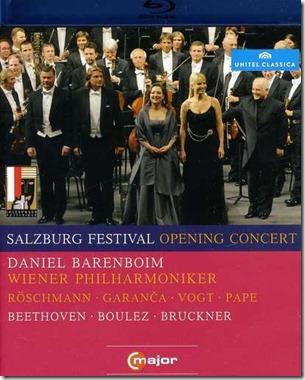 Barenboim Salzburgo 2010 Boulez Beethoven Bruckner