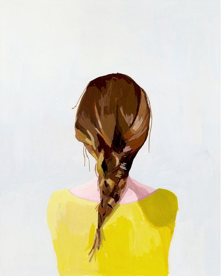 Braid Print by Elizabeth Mayville