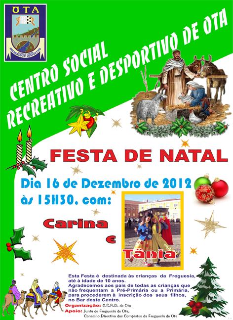 CSRDO - Festa Natal 2012