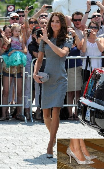 Kate Middleton isit the Sainte-Justine University Hospital