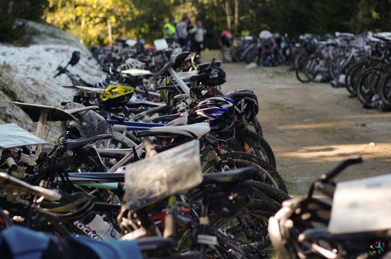 Parc à vélo raid chauds patates 2011