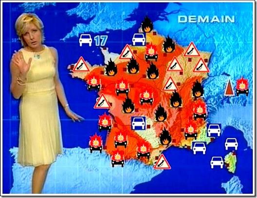 Muslim Violence forecast France