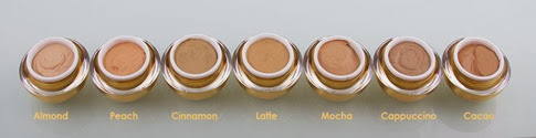 Orogold Mousse Foundation Shades