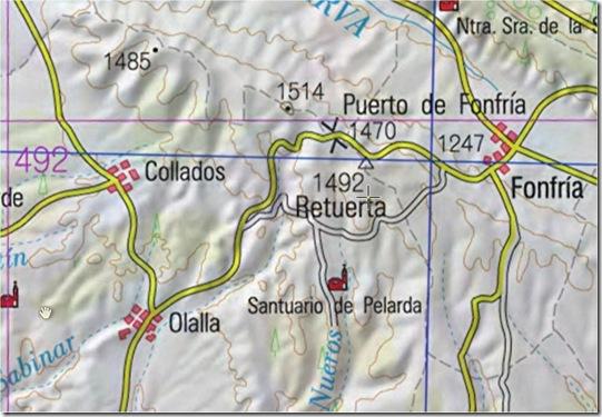 Mapa Pelarda