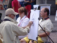 painting demonstration