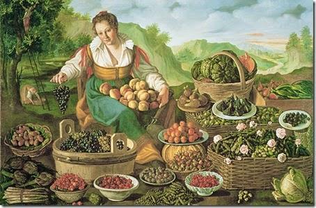 Fruttivendola (V.Campi 1536-1591)