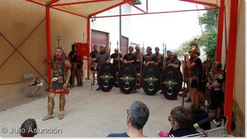 Festival romano de Mendigorría - Legionarios de la Cohors II Vasconum