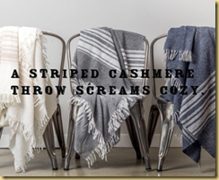 cashmere throw