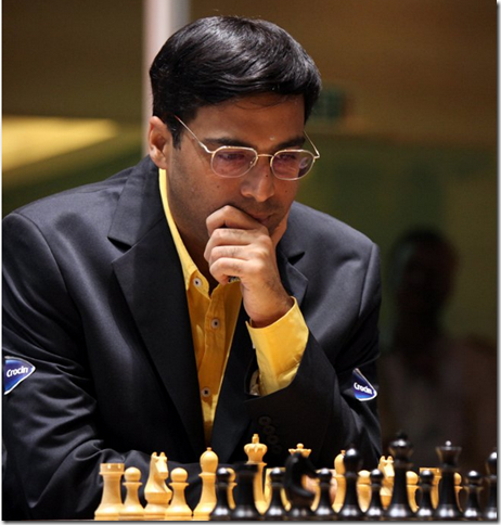 Vishy Anand, the defending World Chess Champion