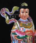 【木雕藝術~神明佛像訂做】準備飄洋過海坐飛機去-特別訂製的九天玄女-上篇