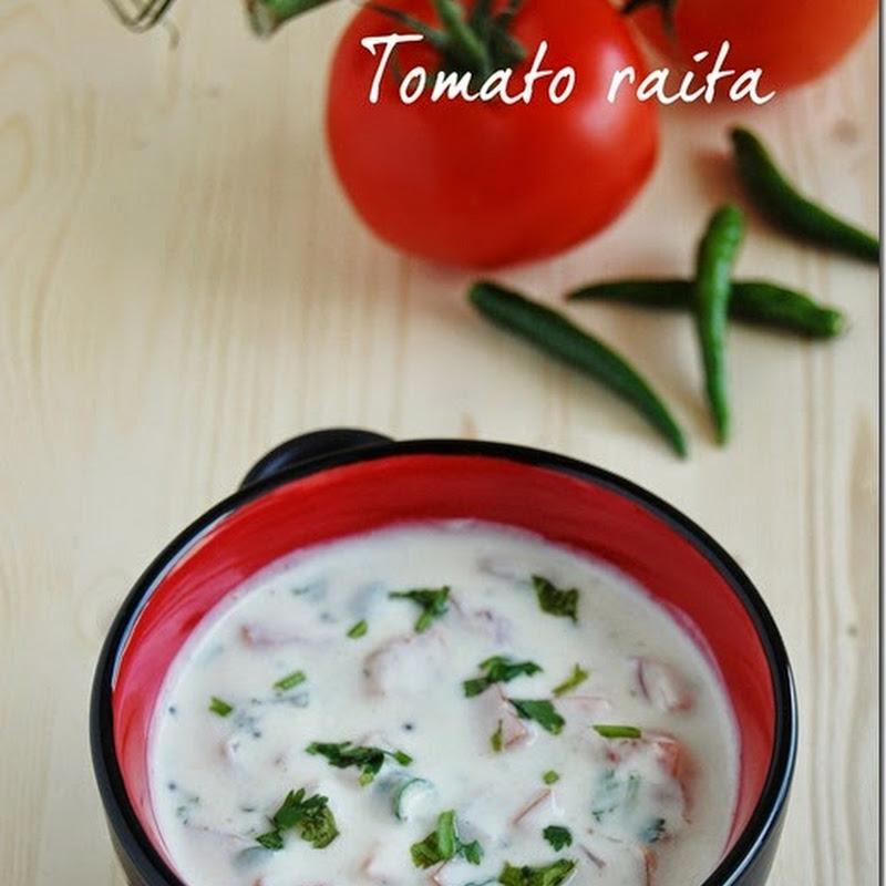Tomato raita