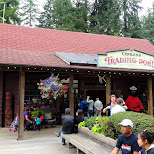 capilano trading post at the Capilano Suspension Bridge in North Vancouver, British Columbia, Canada