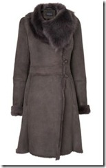 Jaeger Shearling Coat