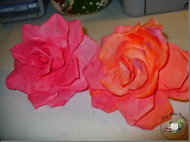 PDC Coffee Filter Roses (2)