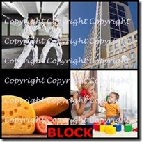BLOCK- 4 Pics 1 Word Answers 3 Letters