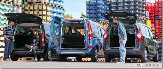Dacia Lodgy - Renault Kangoo - Peugeot Partner 02