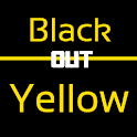 Blackout Yellow Keyboard Skin icon