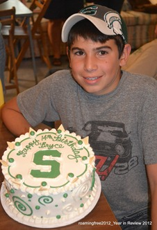 Happy Birthday Bryce - 14!