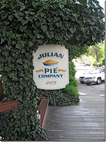 Julian Pie Company pretty sign