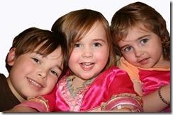 Maise, Rosie and Ruben