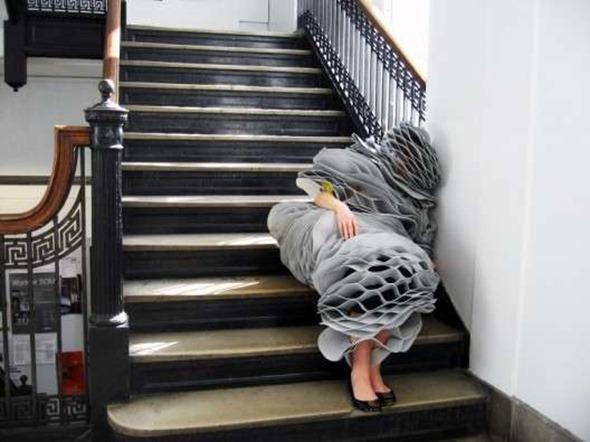 pleated sleeping bag
