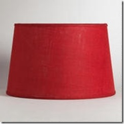 Red Flooor Lamp Shade World Market