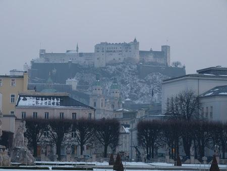 Obiective turistice Salzburg: citadela Hohensalzburg