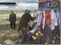 Белорусское чудо. Верующие рассмотрели на стволе столетнего вяза лик богоматери