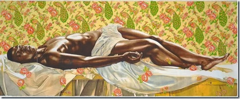 death of abel - kehinde wiley