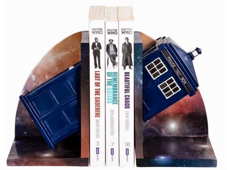 Doctor Who TARDIS Bookends from Big Bad Toy Store