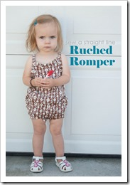 ruched romper