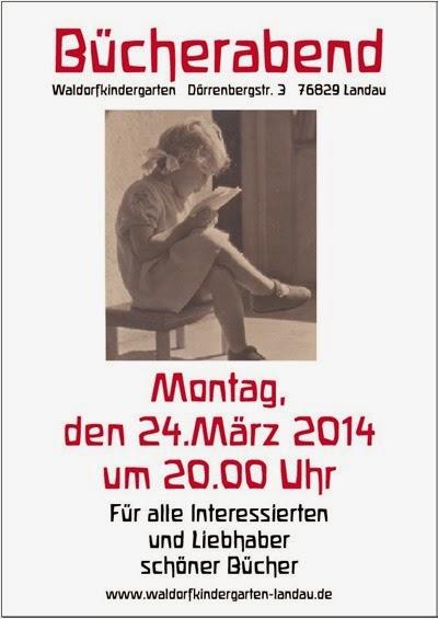 Bücherabend Frühjahr 2014