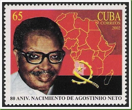 Agostinho Neto, amizade Cuba & Angola
