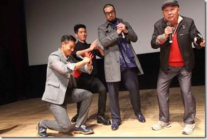2014.11.11 Eddie Peng during Rise of the Legend - 彭于晏 黃飛鴻之英雄有夢 杭州 - 發佈會 04