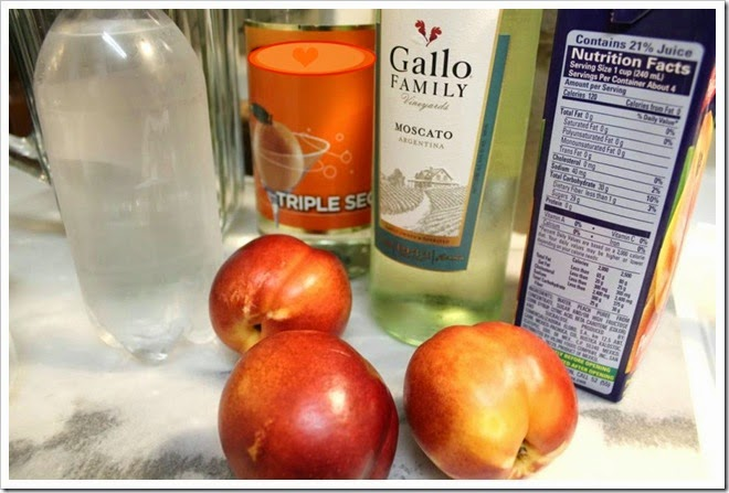 Peach Sangria Gallo Moscato5a