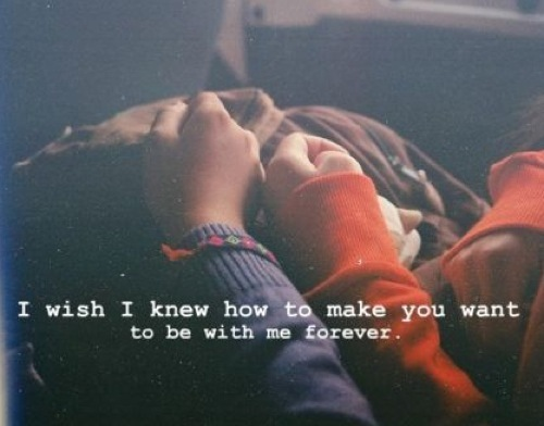 Be With Me Forever