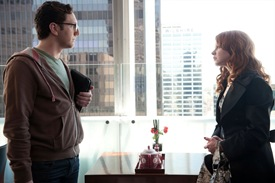 Adam Silver is The Young Man and Jilly Kitzinger is played by Lauren Ambrose