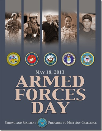 2013 ArmedForcesDayPoster