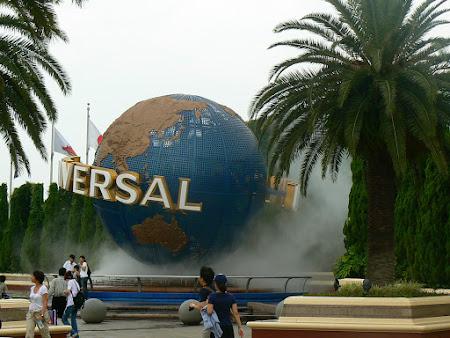 Imagini Universal Studios Osaka: intrare parc de distractii.JPG