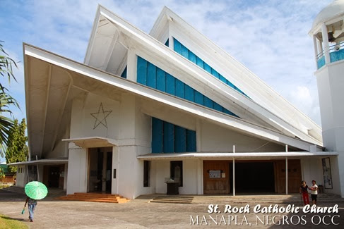 St. Roch Catholic Church, Manapla