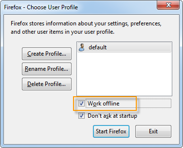 firefox-work-offline