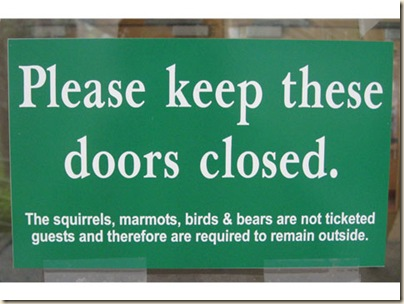 keep closed