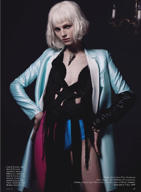 Andrej Pejic by Mariah Jelena (My People Were Fair And Had Sky In Their Hair - Black #16 Spring-Summ (7)