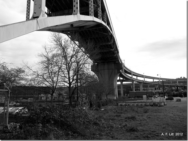 Fremont Bridge.  Portland, Oregon.  April 2, 2012.  Photo of the Day by A. F. Litt: September 20, 2012.
