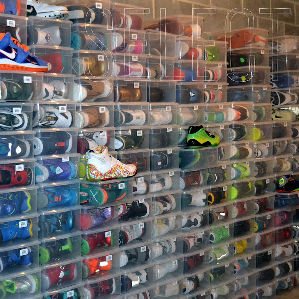 Justin Amazing8217s Nike LeBron Sneaker Collection by SN Select