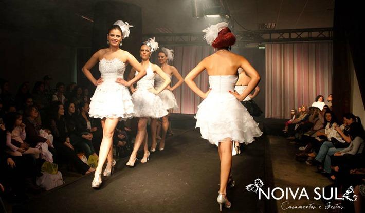 desfile vestido de noiva sul curitiba