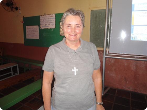 Irmã Inês Caixeta - Psicologa e Missionaria do Sagrado Coração de Jesus