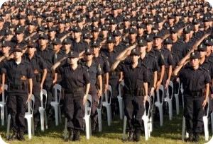 Comienzan los exámenes de ingreso para la Escuela de Policía de La Costa